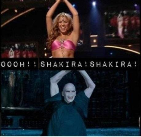 voldemort bailando oh shakira shakira imagenes graciosas chistosas