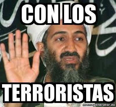 con los terroristas harlem shake osama bin laden