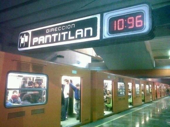 direccion pantitlan y la hora exacta es 10 96 am pm