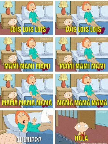 lois mami louis mama stewie que quieres hola