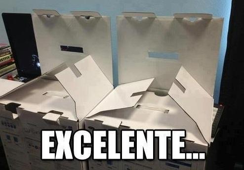 excelente cajas tramando algo caras graciosas