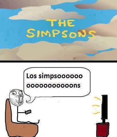 los simpson cancion del inicio lol cantarla