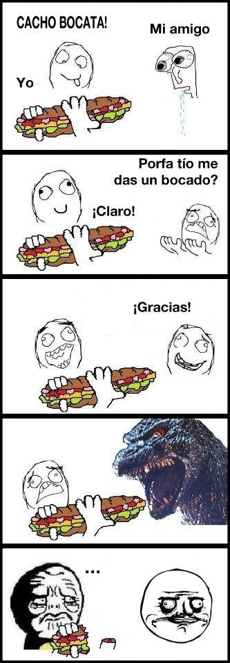 por fa me das un bocado mordida grande de dinosaurio memes emparedado