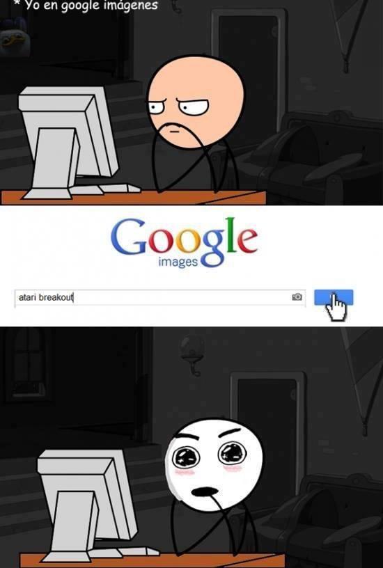 yo en google imagenes atari break out juego divertido