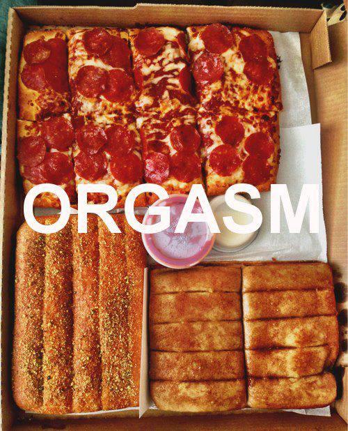 orgasm comida pizza imagenes chistosas
