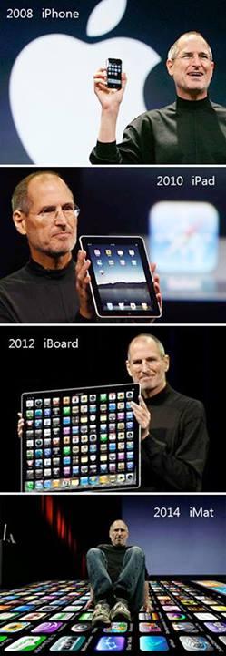 ipod ipad iboard mcbook nuevos