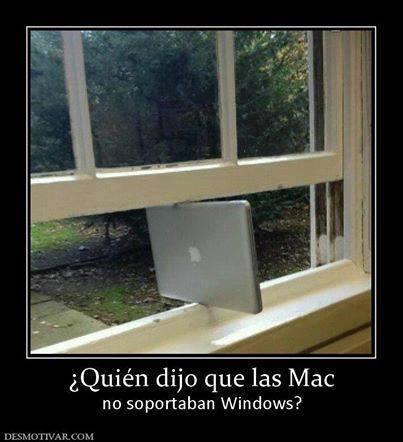 chiste friki mac windows ventanas